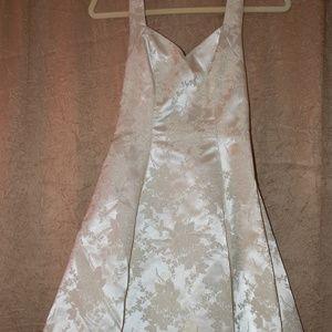 Ivory Halter Top dress